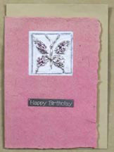 butterfly casting mold card